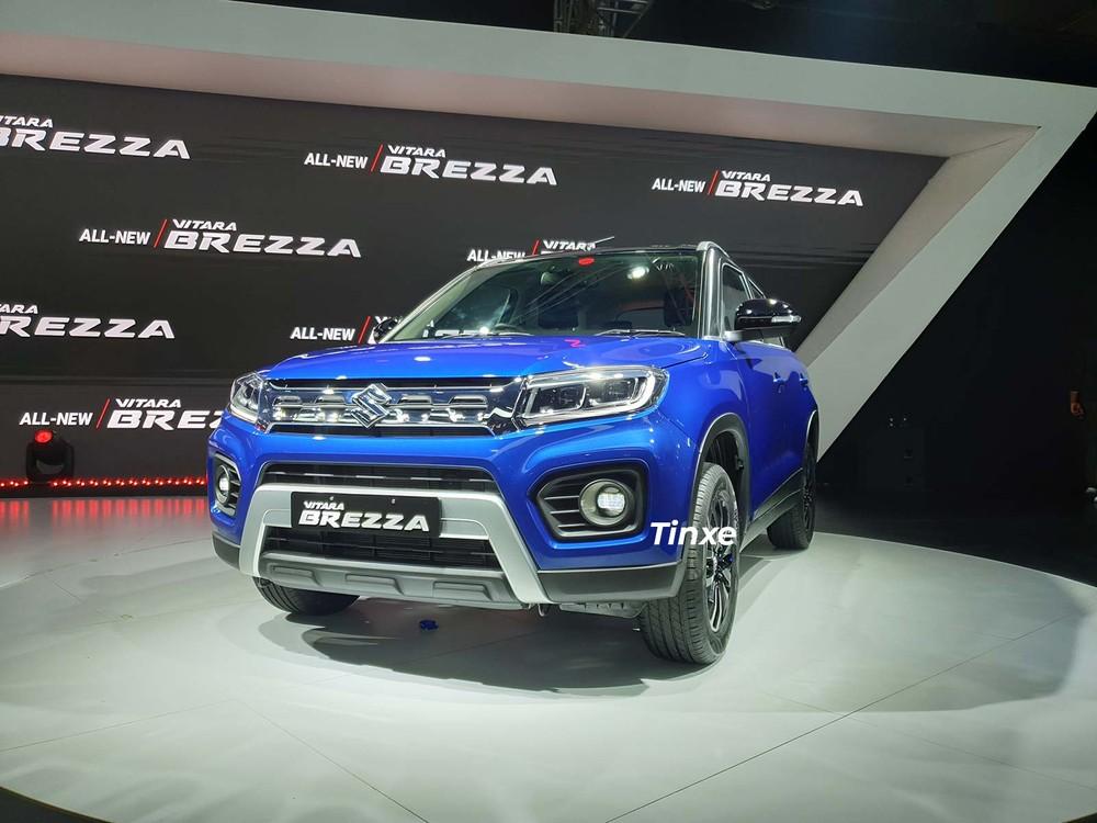 Suzuki Vitara Brezza 2020 được nâng cấp nhẹ ở thiết kế đầu xe