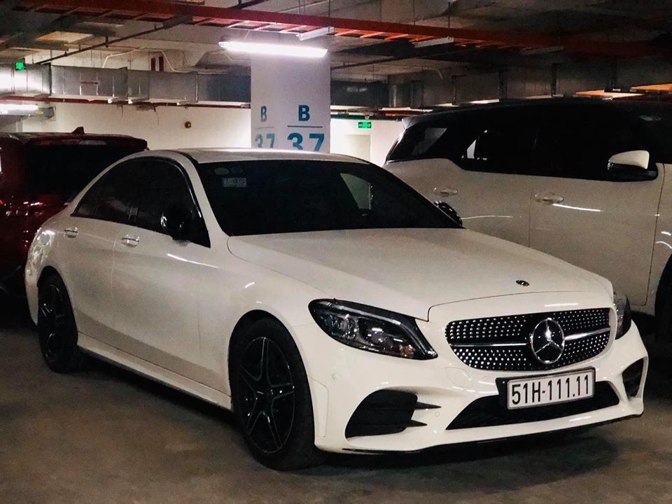 2020 Mercedes-Benz C300 AMG wears the first quarter sea in ...