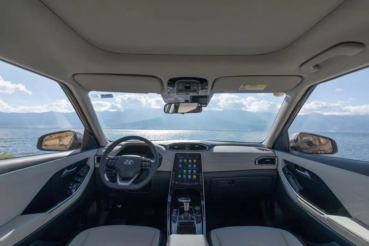 Nội thất xe Hyundai Creta 2020