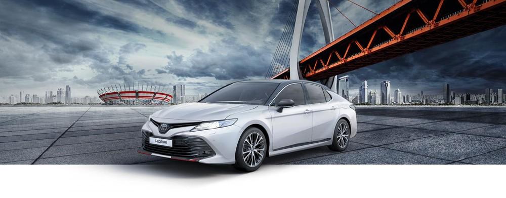 Toyota Camry S-Edition 2020 dành cho thị trường Nga