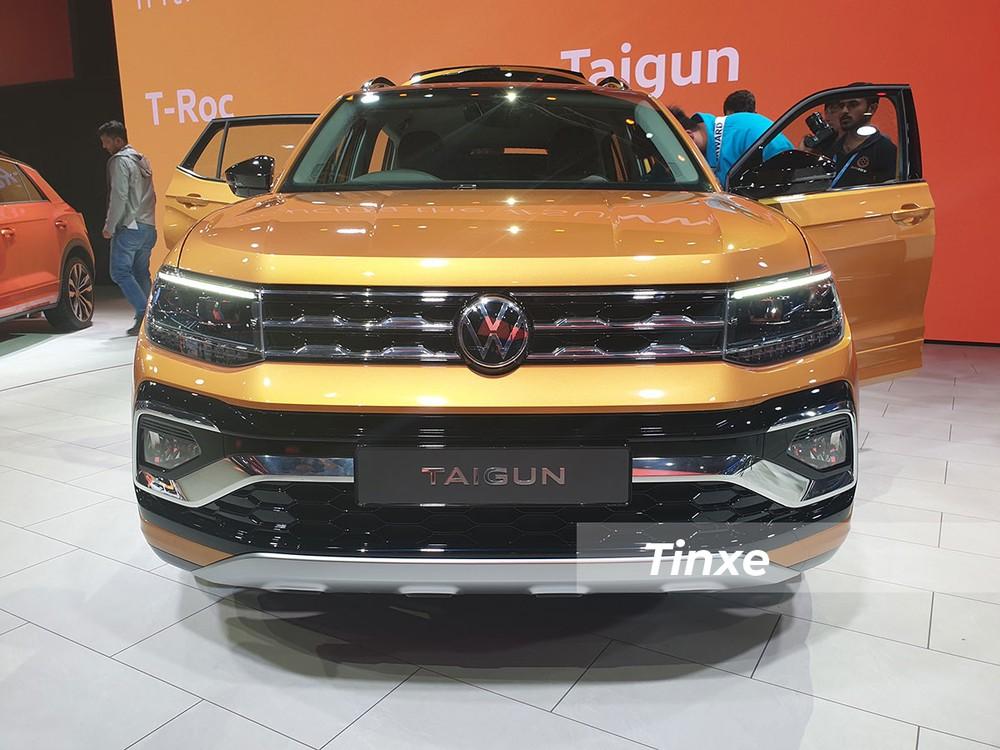 Volkswagen Taigun mang vẻ ngoài khá giống với đàn anh Tiguan