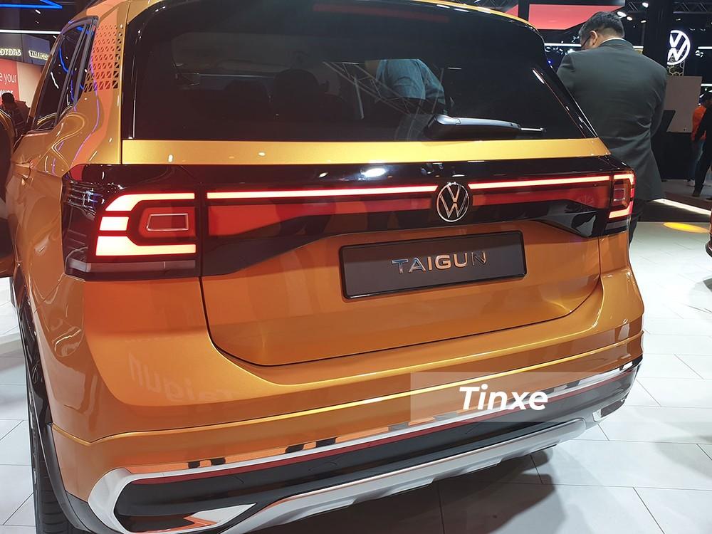 Đuôi xe Volkswagen Taigun Concept