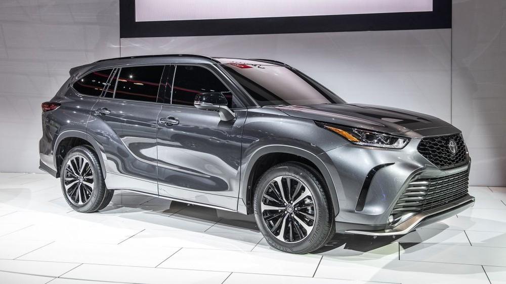 Toyota Highlander XSE 2021 ra mắt trong triển lãm Ô tô Chicago năm nay