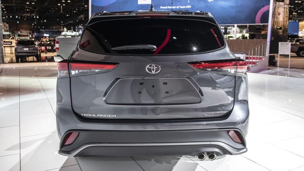 Động cơ của Toyota Highlander XSE 2021 không có gì mới