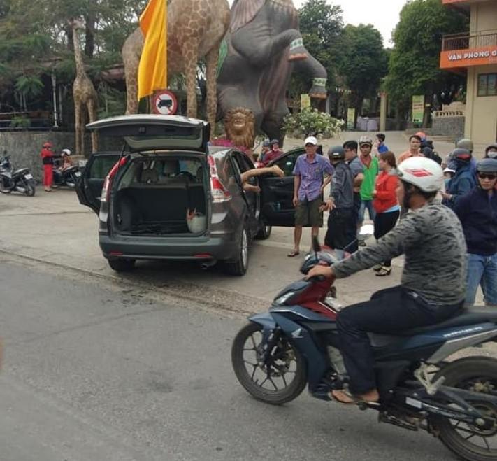 Hiện trường vụ tai nạn vào chiều qua ở Đồng Nai