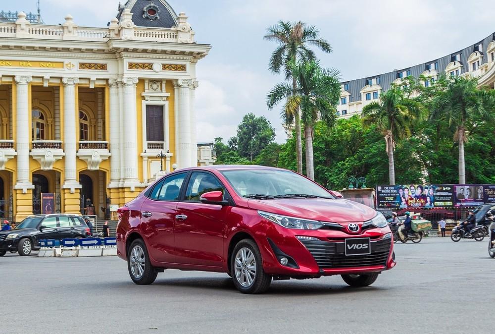 """Doanh số Toyota Việt Nam """"trượt"""" dài ở tháng nghỉ Tết Nguyên Đán 2020, Vios không còn là sản phẩm bán chạy nhất thị trường"""