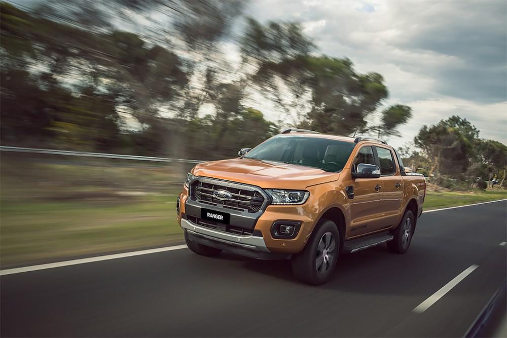 Ford Ranger Limited 2020 - phiên bản giá rẻ của Ford Ranger Wildtrak.