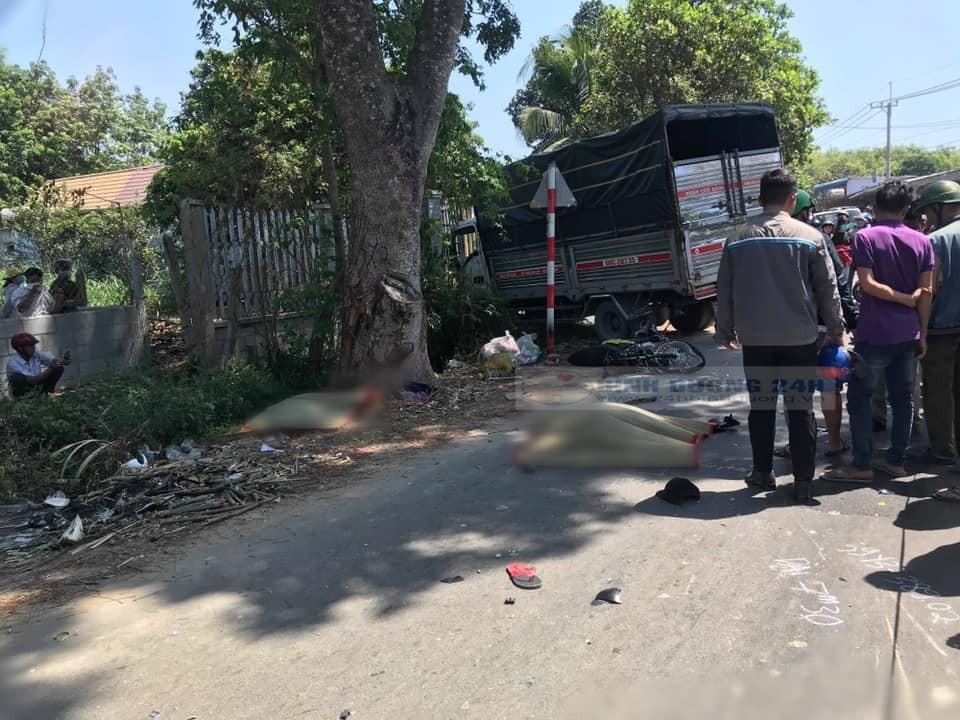 Hiện trường vụ tai nạn nghiêm trọng tại huyện Củ Chi
