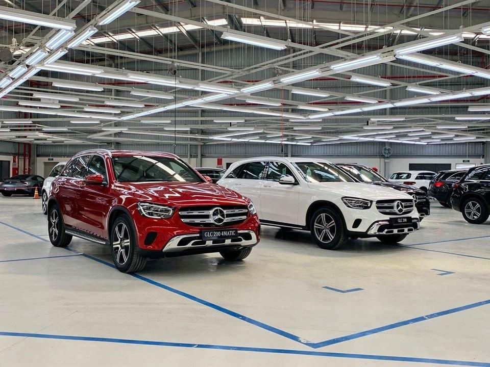 Mercedes-Benz GLC 200 và GLC 200 4Matic 2020 nâng cấp vừa được giới thiệu