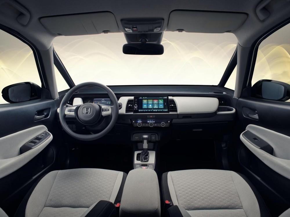 Nội thất bên trong Honda Jazz 2020 dành cho thị trường châu Âu