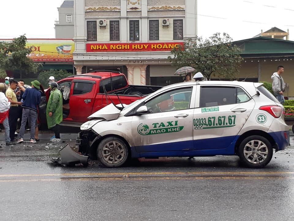 Vụ tai nạn khiến 2 người bị thương