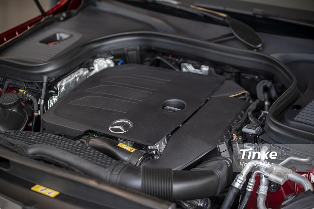 Động cơ M264 mới được trang bị trên Mercedes-Benz GLC200 4matic.