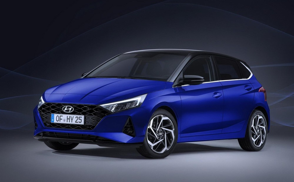 "hyundai i20 2021 officially ""appears"" with a sharper and"
