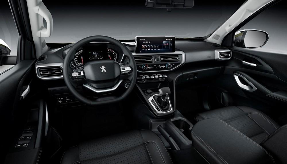 Nội thất bên trong Peugeot Landtrek