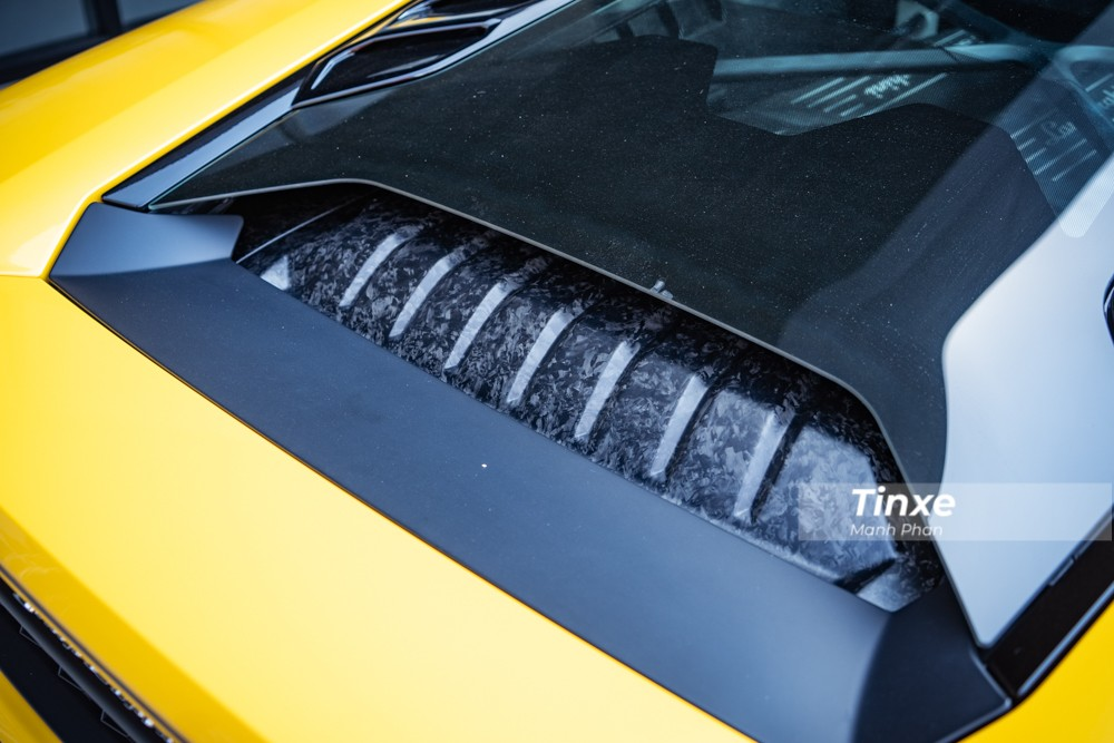 Lamborghini Huracan LP580-2 ở Cần Thơ có công suất 580 mã lực
