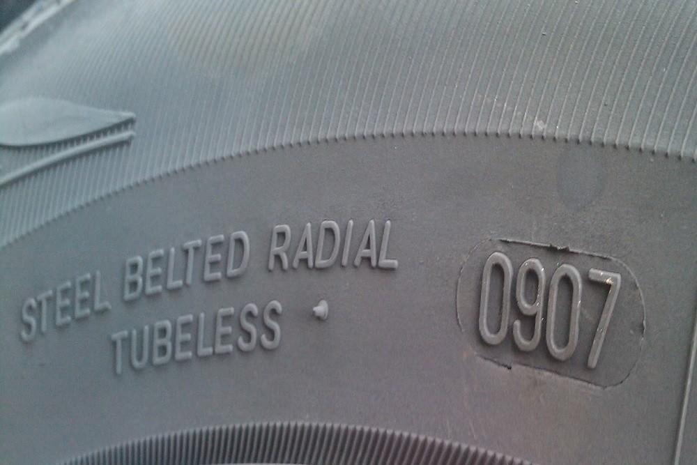 Thông số chỉ thời gian sản xuất lốp xe
