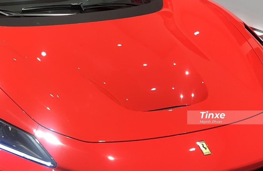 Hốc gió S-Duct lấy cảm hứng từ xe Công thức 1 của Ferrari F8 Tributo