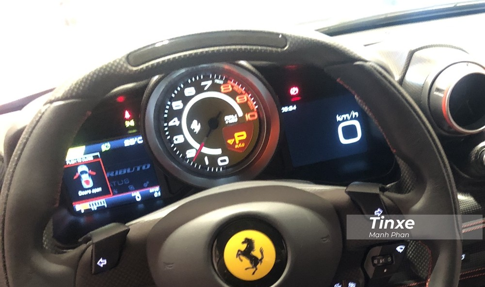 Siêu xe Ferrari F8 Tributo có công suất tối đa 710 mã lực
