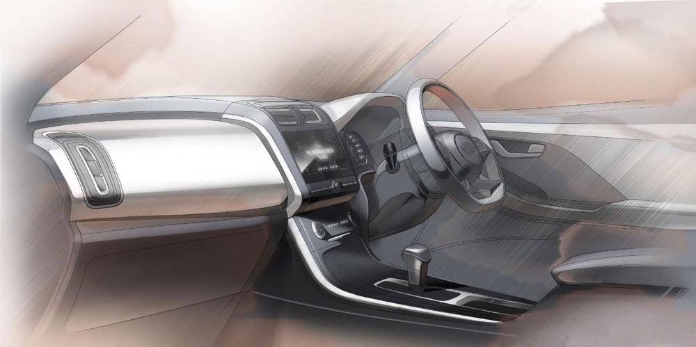 Bản số tự động của Hyundai Creta 2020 dùng cần số như máy bay