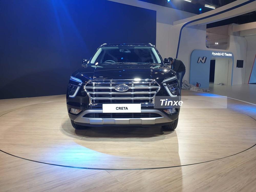 Thiết kế đầu xe như tiểu Palisade của Hyundai Creta thế hệ mới