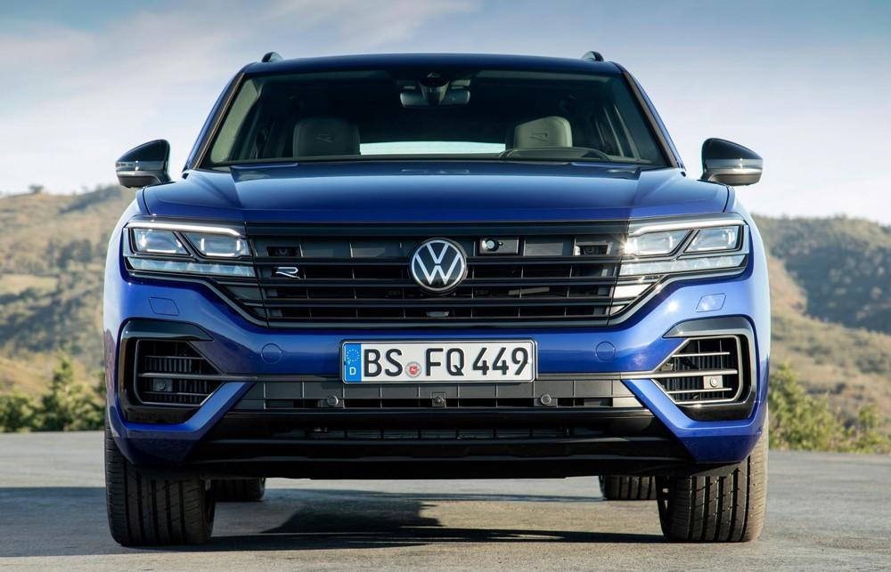 Đầu xe Volkswagen Touareg R