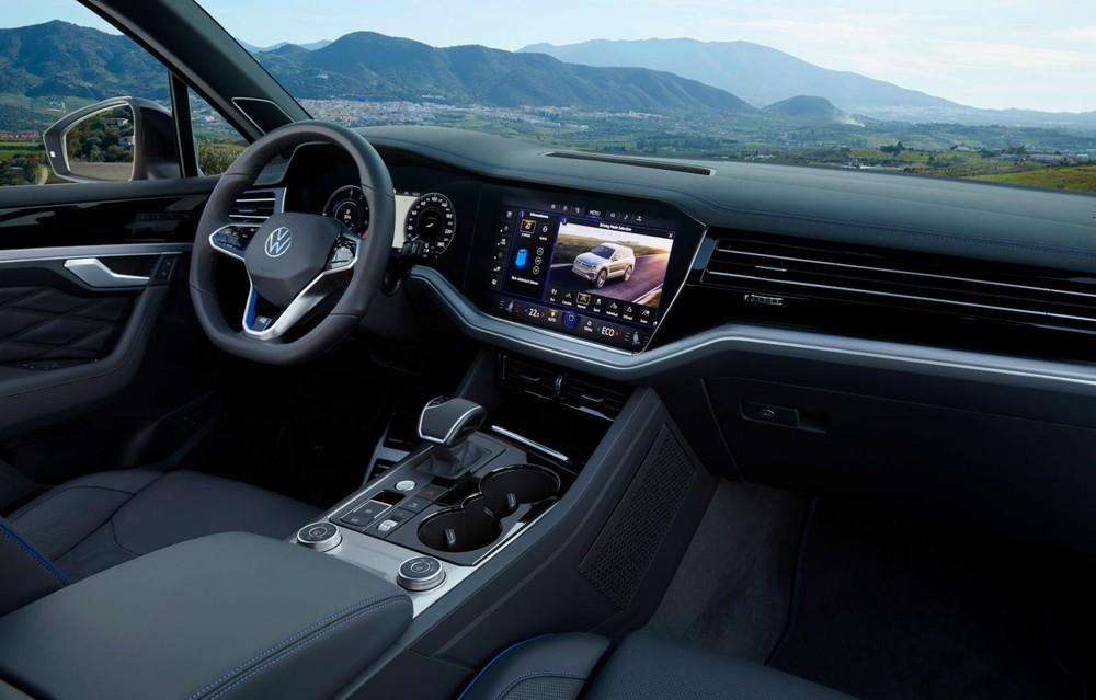 Khoang lái Volkswagen Touareg R