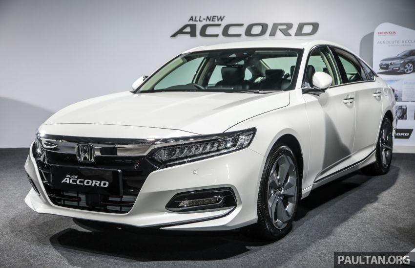 Honda Accord 2020 ra mắt tại Malaysia