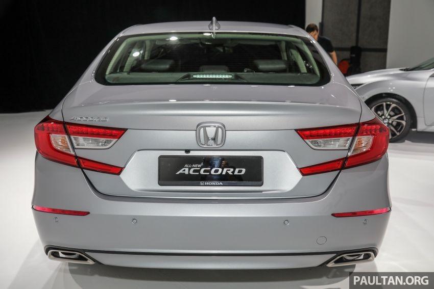 Cận cảnh thiết kế đuôi xe của Honda Accord 2020