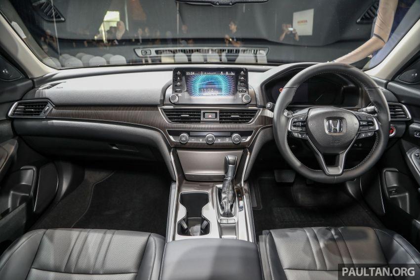 Nội thất bên trong Honda Accord 2020 tại Malaysia