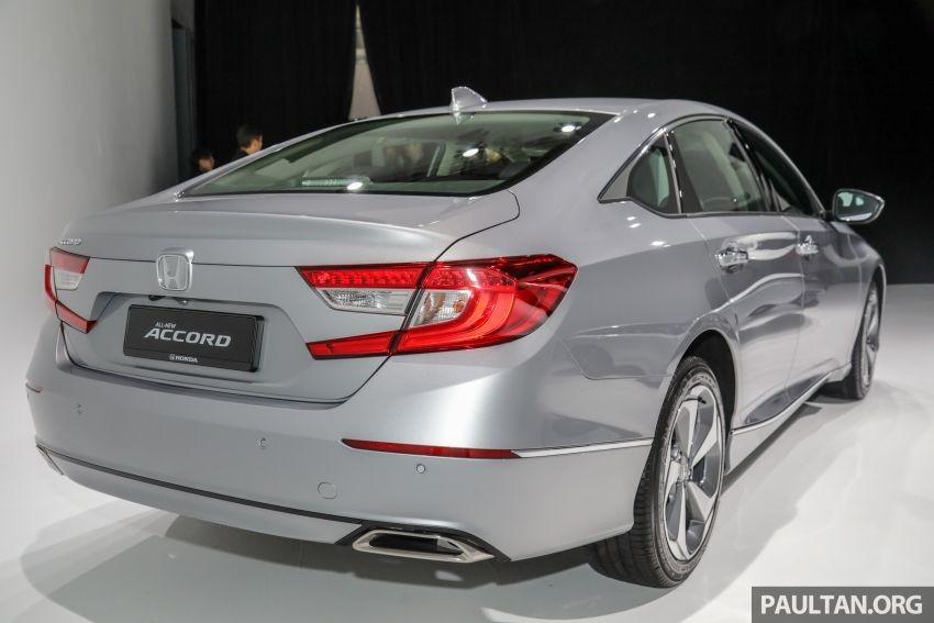 Honda Accord 2020 tại Malaysia mạnh hơn xe ở Việt Nam