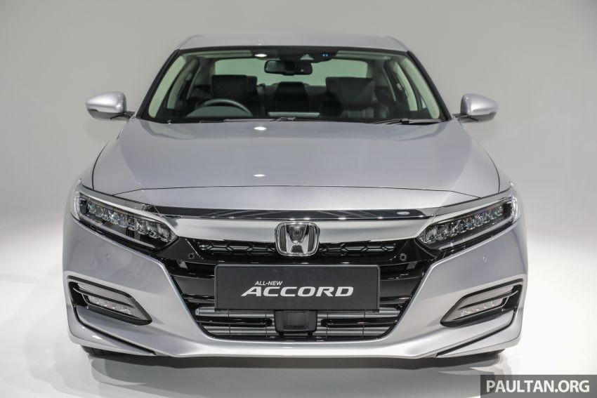 Cận cảnh thiết kế đầu xe của Honda Accord 2020