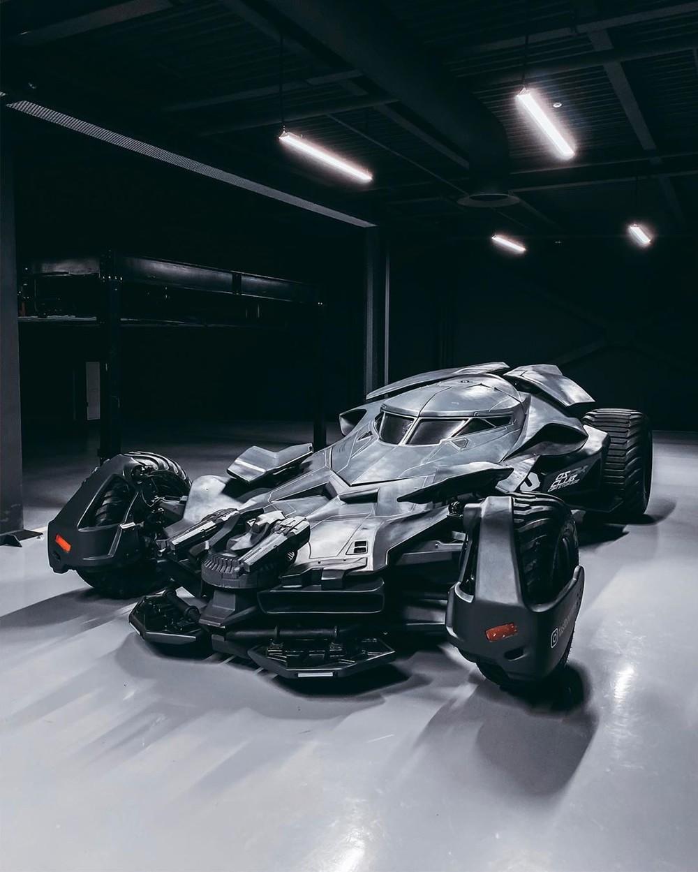Chiếc Batmobile bản sao từng được rao bán vào năm ngoái