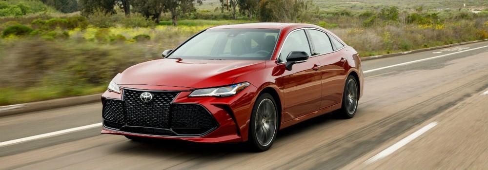 Toyota Avalon là mẫu sedan duy nhất trong danh sách