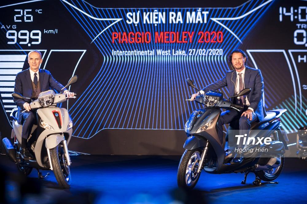 Piaggio Medley 2020 đã chính thức được ra mắt tại Việt Nam.