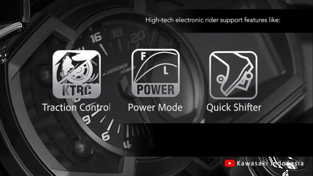 Xe được tích hợp các công nghệ như xe super sport cao cấp