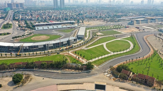 The entire 5,607 km of the Hanoi F1 race has been completed