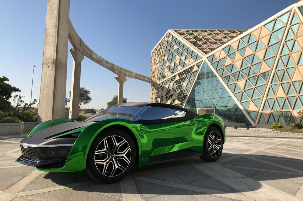 GFG Style 2030 là một siêu xe mang dấu ấn Ả Rập
