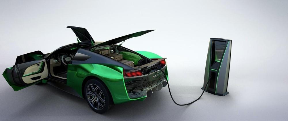 Xe sử dụng điện năng hoàn toàn