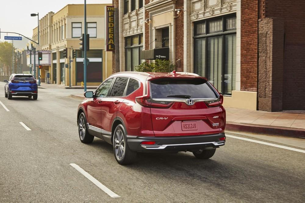 Honda CR-V Hybrid 2020 chỉ tiêu thụ trung bình 6,2 lít xăng/100 km