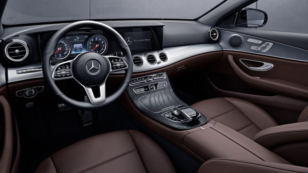 Nội thất bên trong Mercedes-Benz E-Class 2020 tại Philippines