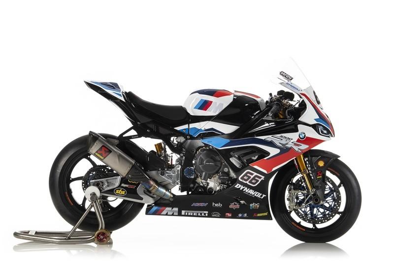 Mẫu xe đua được phát triển từ BMW S1000RR 2020