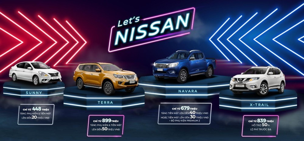 Khuyến mãi của Nissan trong tháng 3/2020