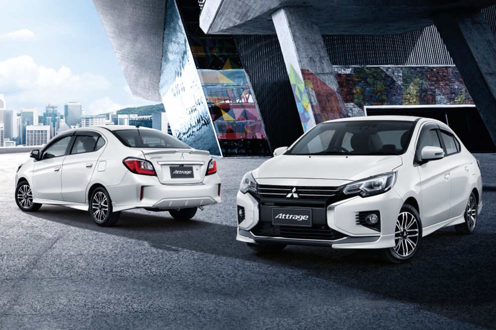 The 2020 Mitsubishi Attrage Is Suddenly Revealed In Vietnam Launched This Month Electrodealpro