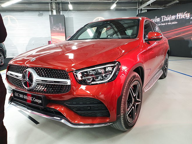 Mercedes GLC300 4Matic Coupe mới ra mắt