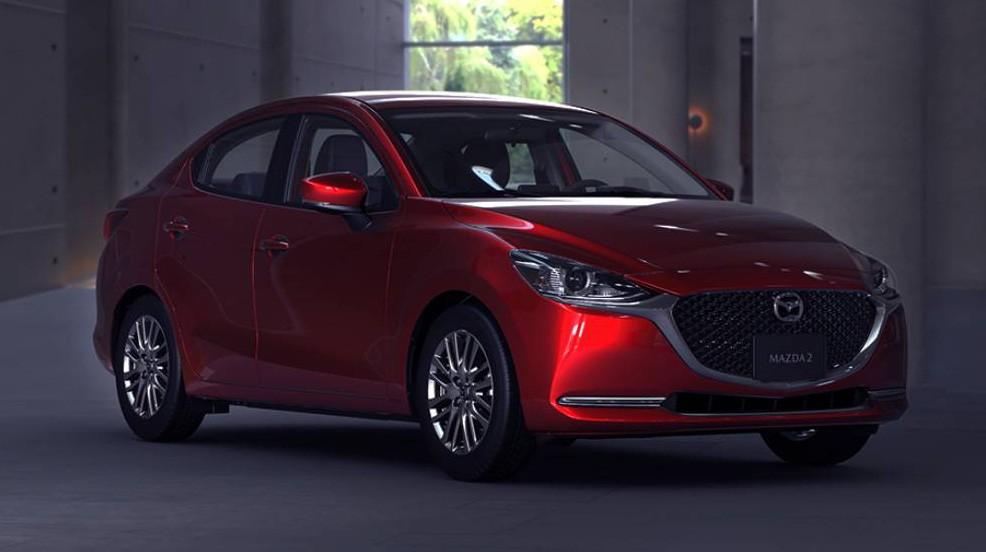 Ngoại thất Mazda2 2020 bản nâng cấp mới ra mắt