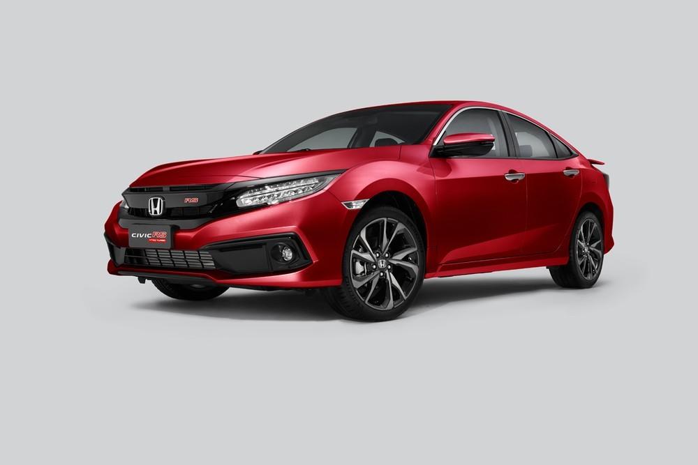 Honda Civic RS mới bổ sung thêm màu sơn ngoại thất Coffee Cherry Red cá tính
