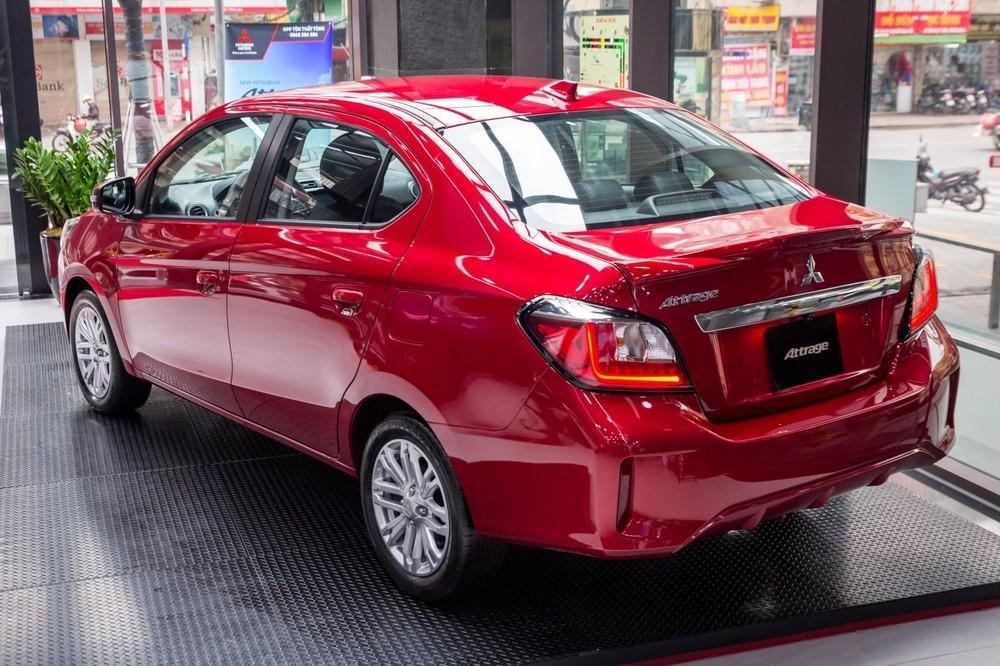 Đuôi xe cá tính của Mitsubishi Attrage 2020
