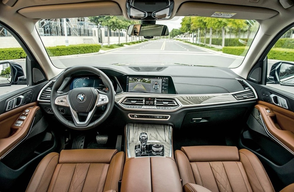 Nội thất của BMW X7 chính hãng
