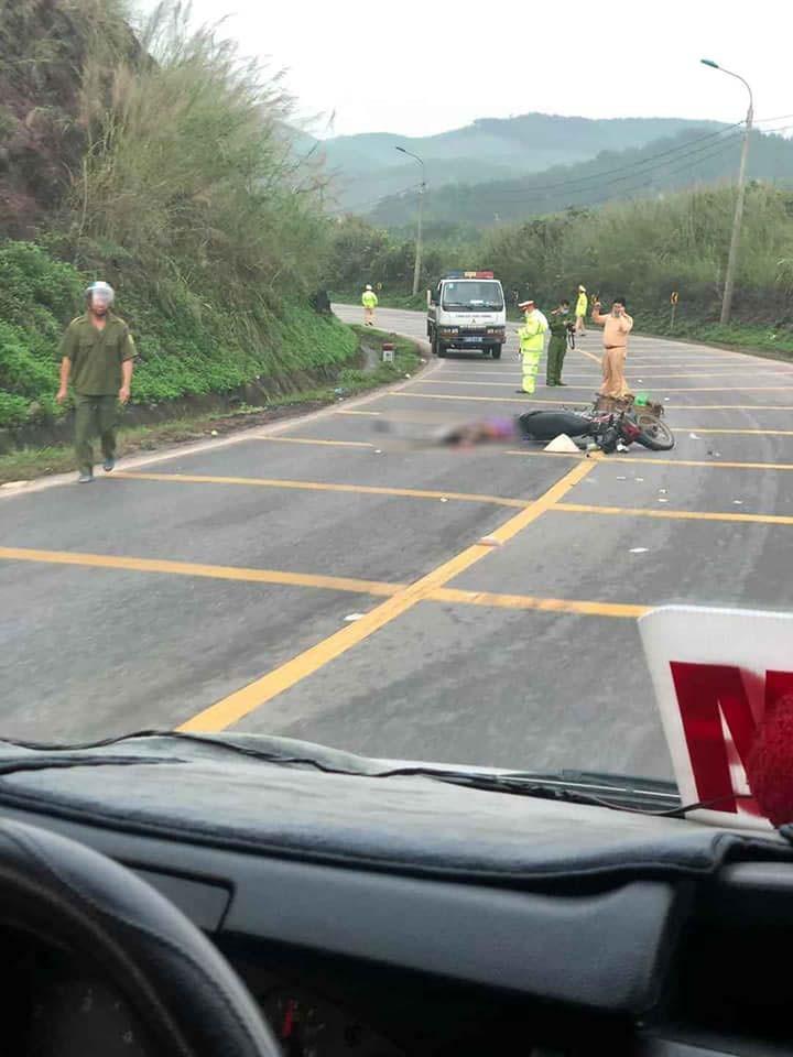 Hiện trường vụ tai nạn tại Quảng Ninh