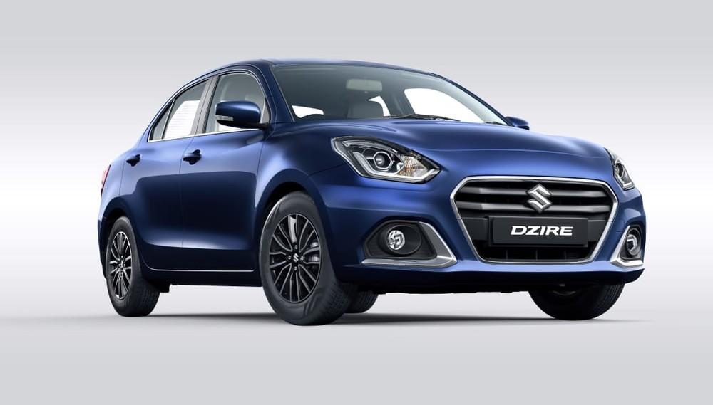 Suzuki Swift phiên bản sedan được bổ sung thiết kế đầu xe mới